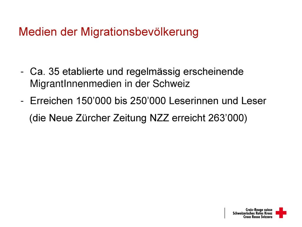 Medien der Migrationsbevölkerung