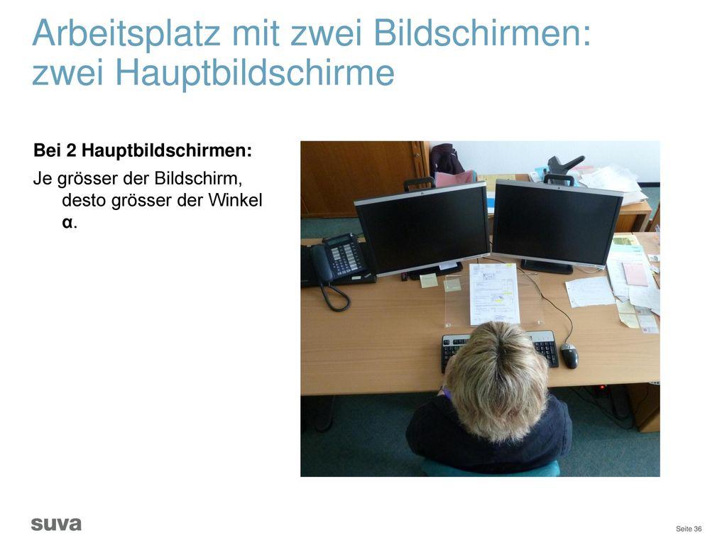 Infomaterial Unter dem Link: www.suva.ch/waswo (Rubrik: Bildschirm) erhalten Sie zahlreiches Info-Material: