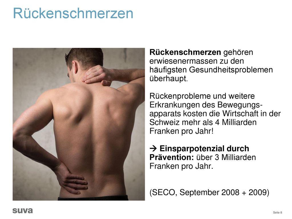 Rückenschmerzen Rückenschmerzen gehören