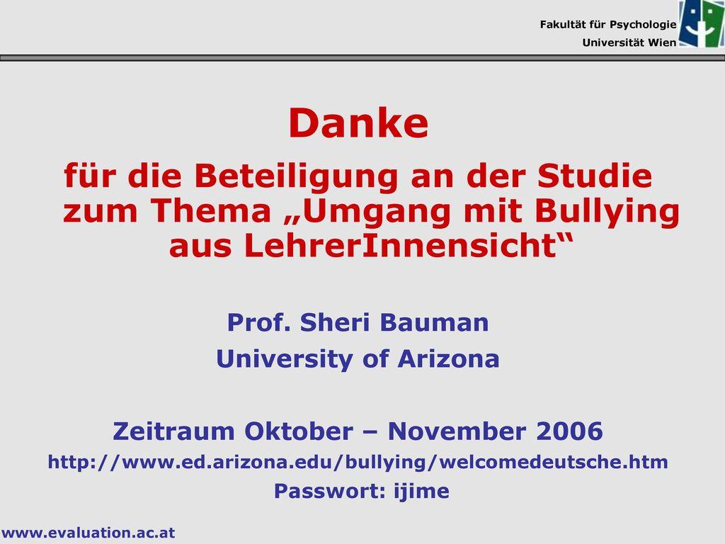 Zeitraum Oktober – November 2006