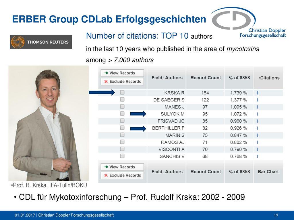ERBER Group CDLab Erfolgsgeschichten