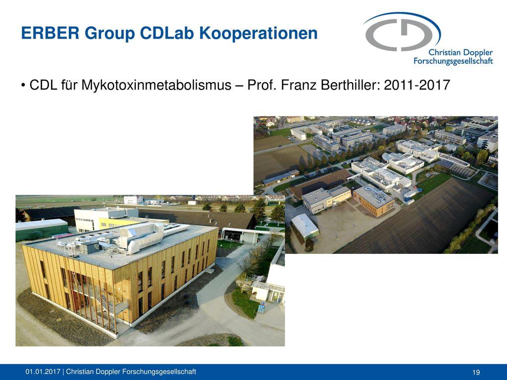 ERBER Group CDLab Kooperationen