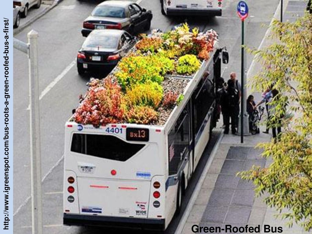 http://www.igreenspot.com/bus-roots-a-green-roofed-bus-a-first/ Green-Roofed Bus