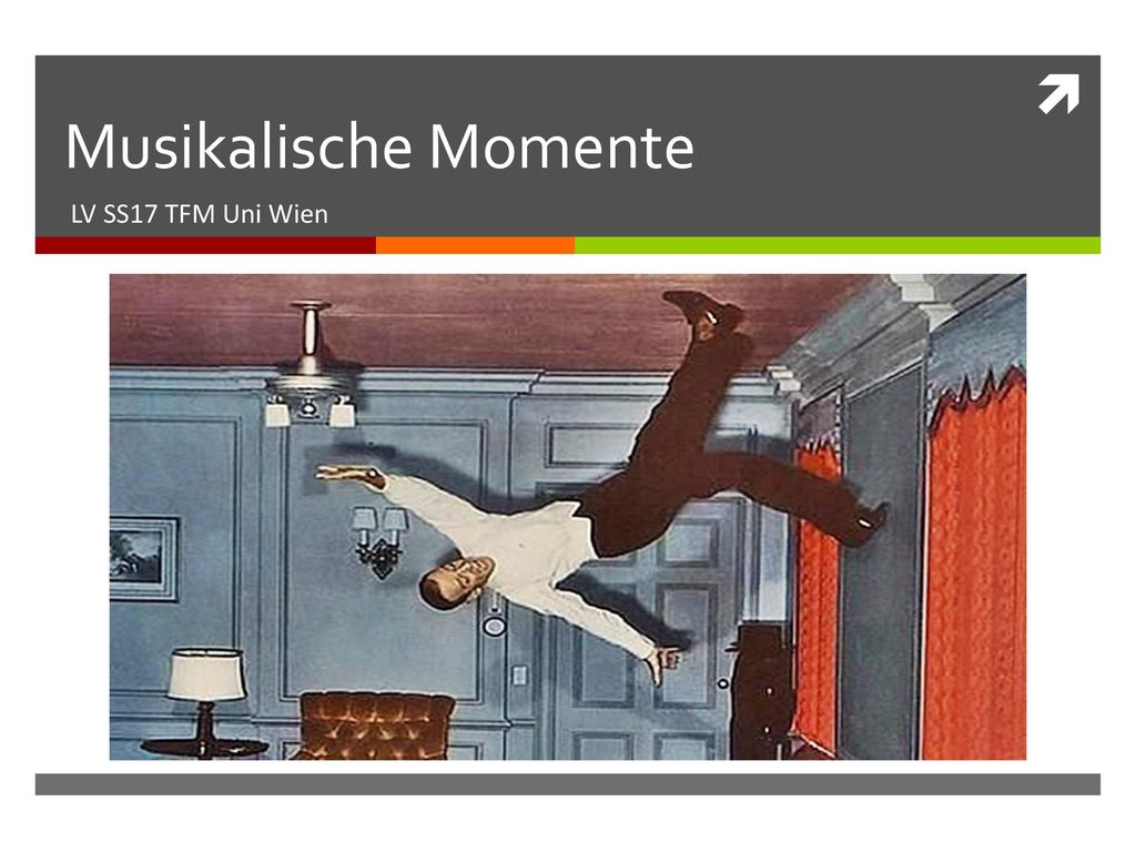 Musikalische Momente LV SS17 TFM Uni Wien