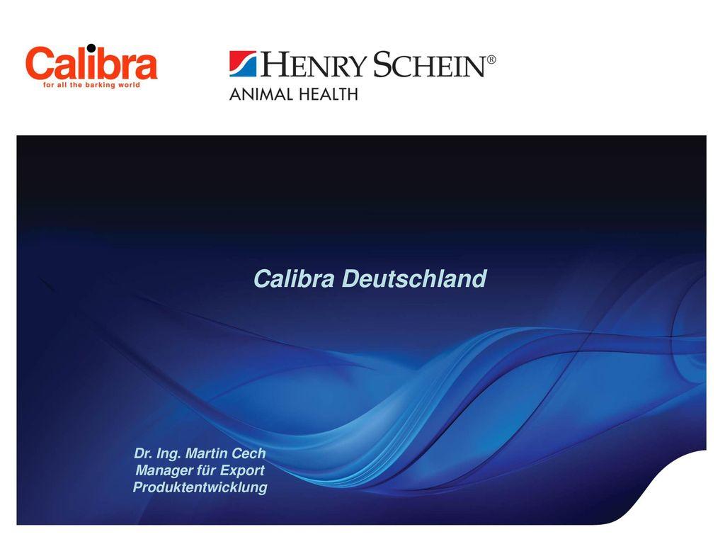 Calibra Deutschland Dr. Ing. Martin Cech Manager für Export