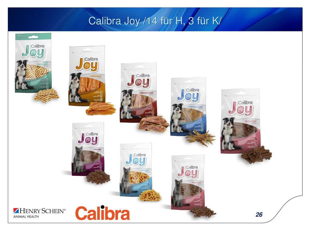 Calibra Joy /14 für H, 3 für K/