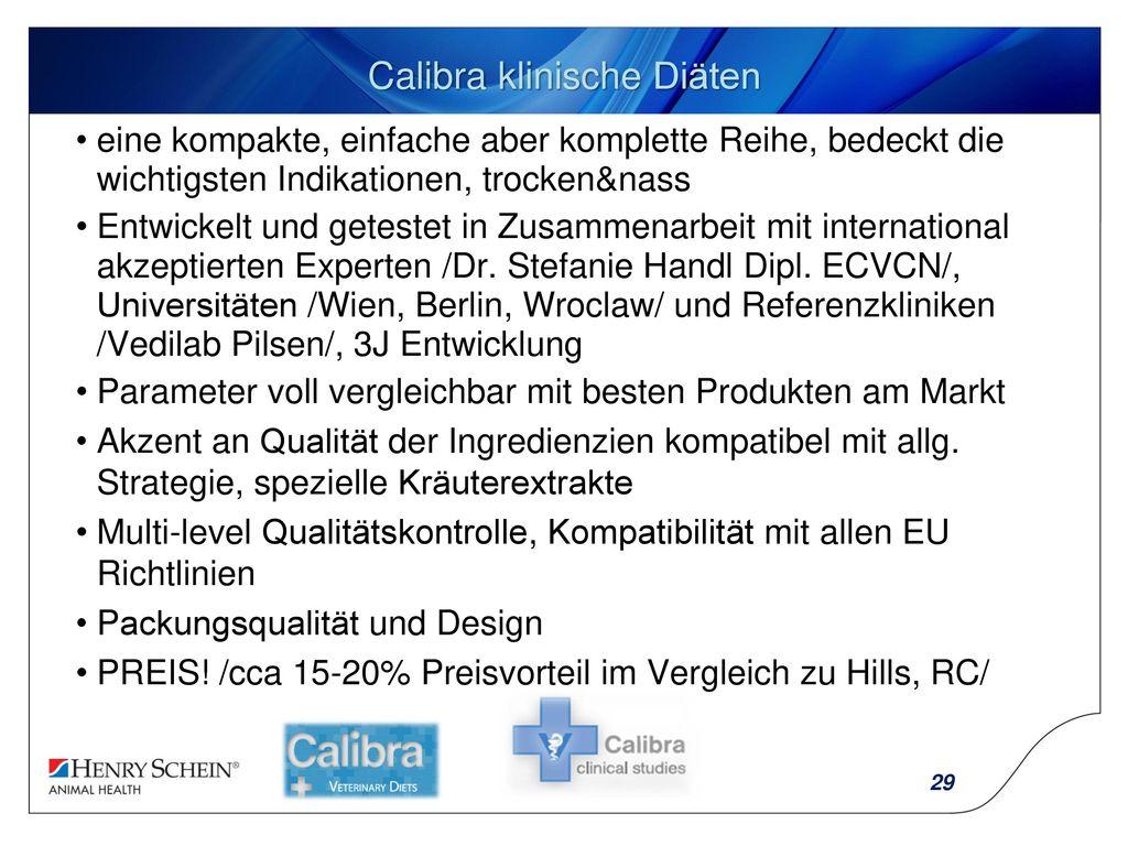 Calibra klinische Diäten