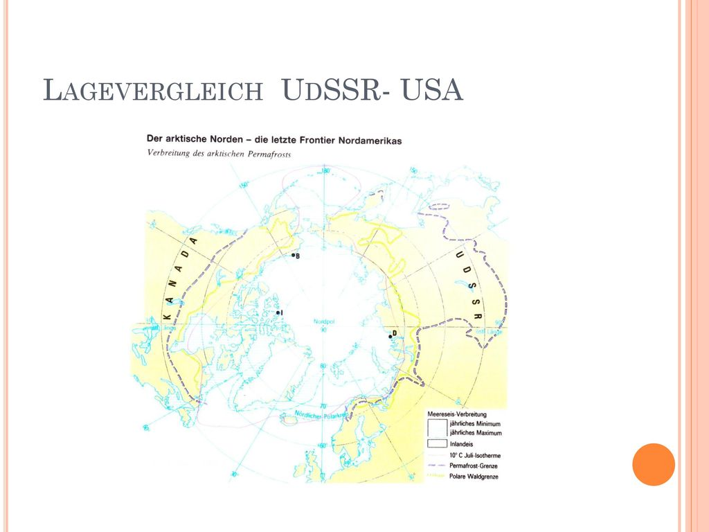 Lagevergleich UdSSR- USA