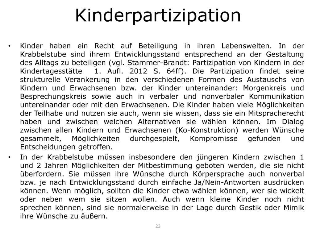 Kinderpartizipation