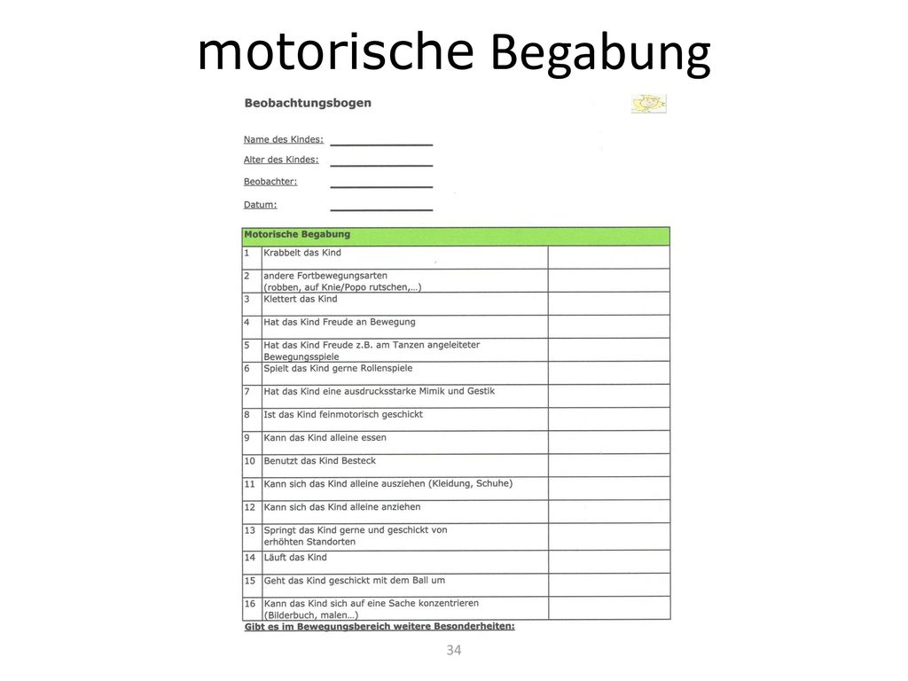 motorische Begabung 34