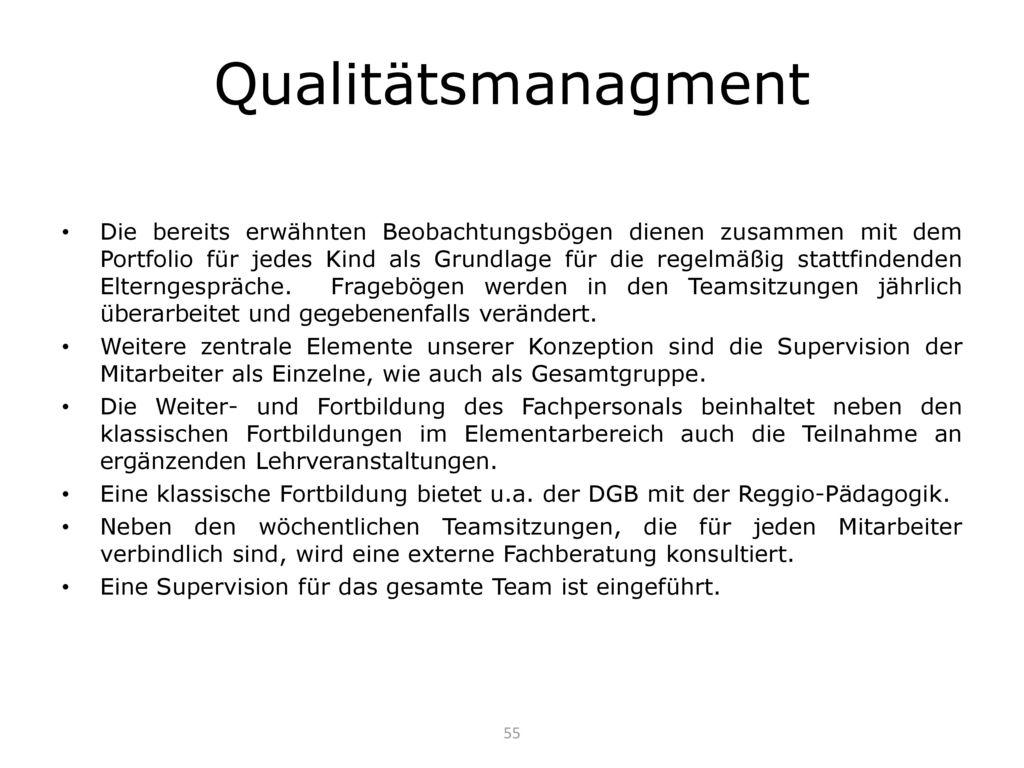 Qualitätsmanagment
