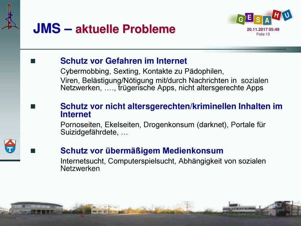 JMS – aktuelle Probleme