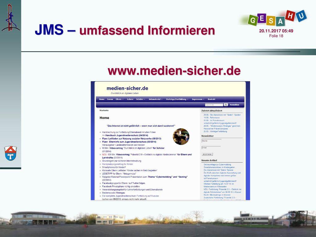 JMS – umfassend Informieren