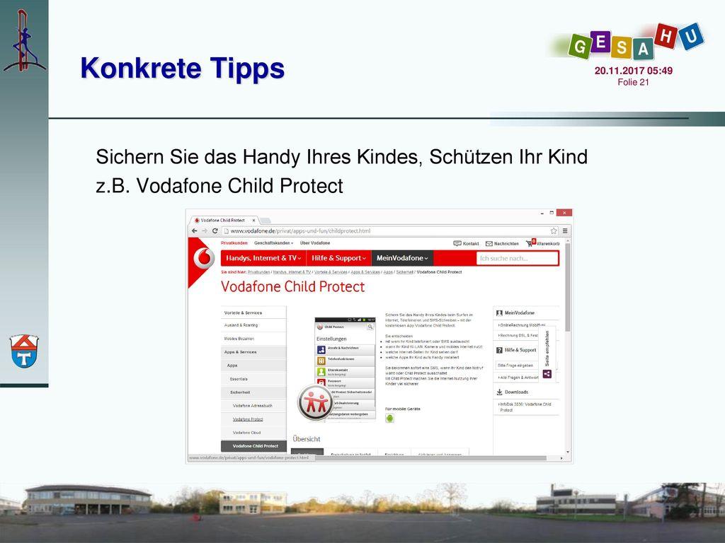 Konkrete Tipps Sichern Sie das Handy Ihres Kindes, Schützen Ihr Kind