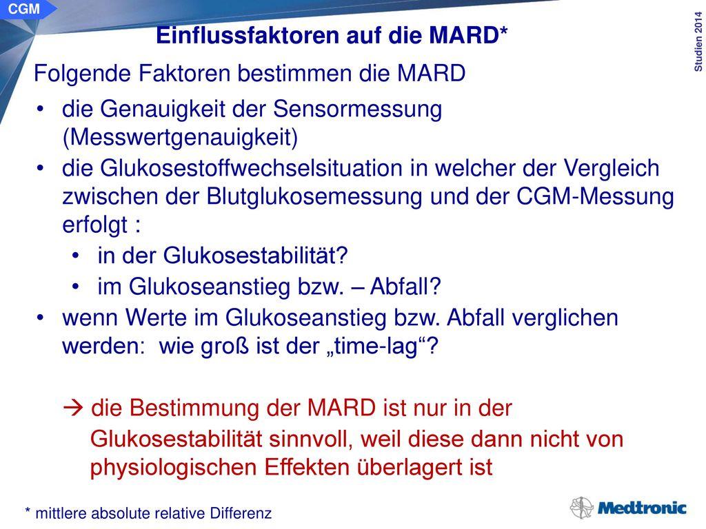 MARD = 1 N i=1 N CGMi −Refi Refi ×100%