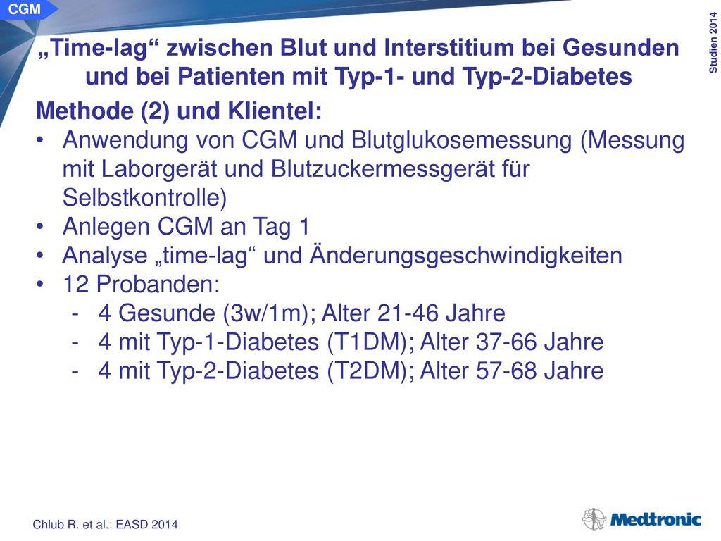 Glukoseänderungsgeschwindigkeit im Anstieg: