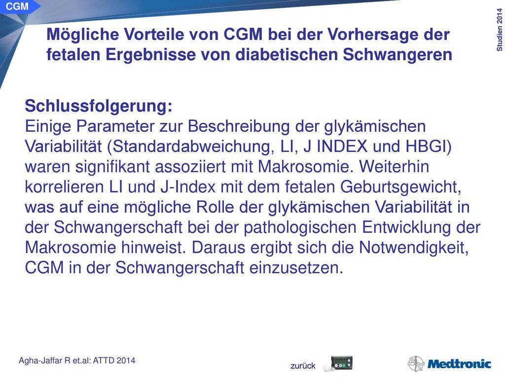 CGM Anwendung von diagnostischem CGM zur Therapieoptimierung bei Kindern mit Typ-1-Diabetes. Ziel der Studie: