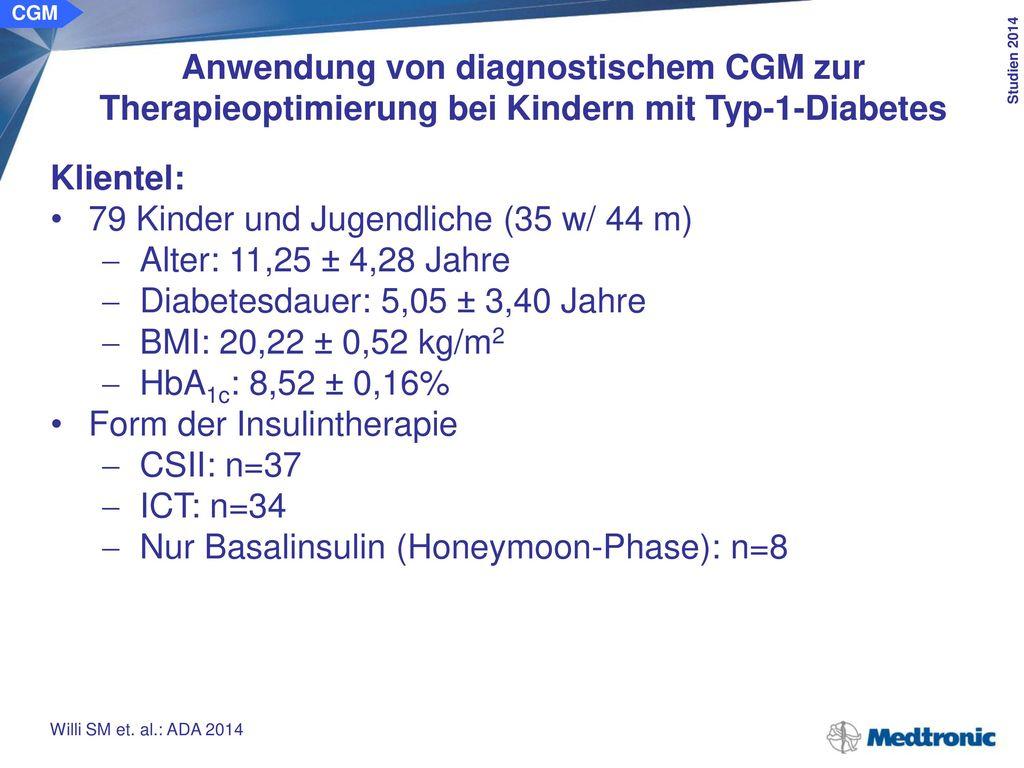 Ursachen für CGM-Diagnostik: