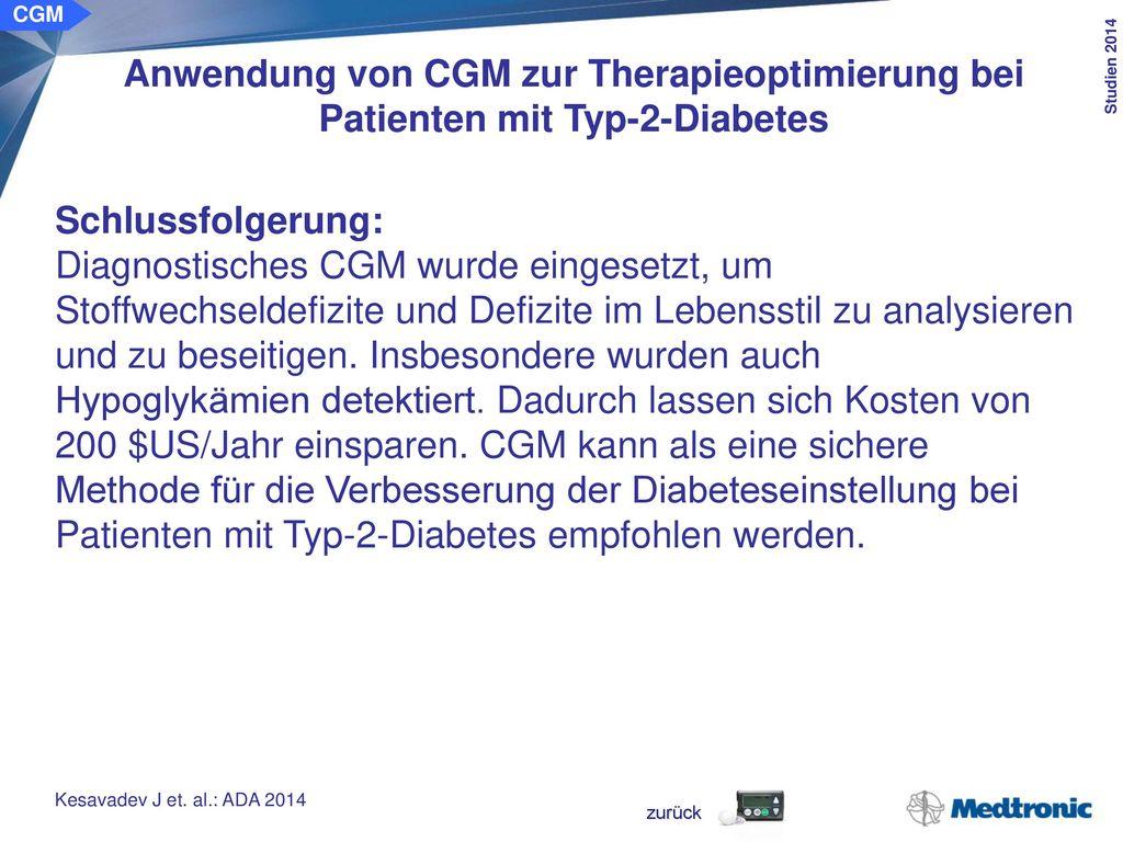 CGM Einfluss von RT-CGM auf die Endothelfunktion bei Jugendlichen mit Typ-1-Diabetes. Ziel der Studie: