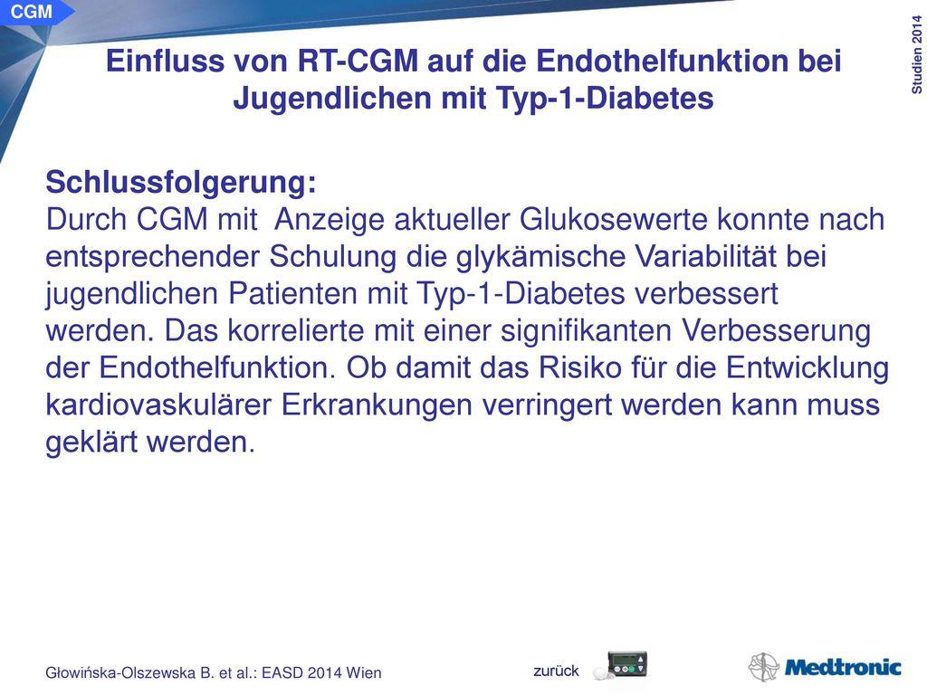 Glykämische Variabilität bei Patienten mit gestörter Glukosetoleranz