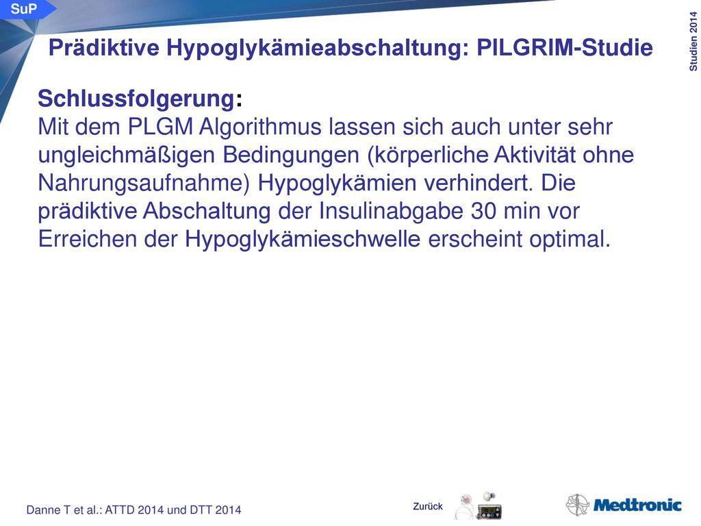 Prädiktive Hypoglykämieabschaltung in der Nachtphase