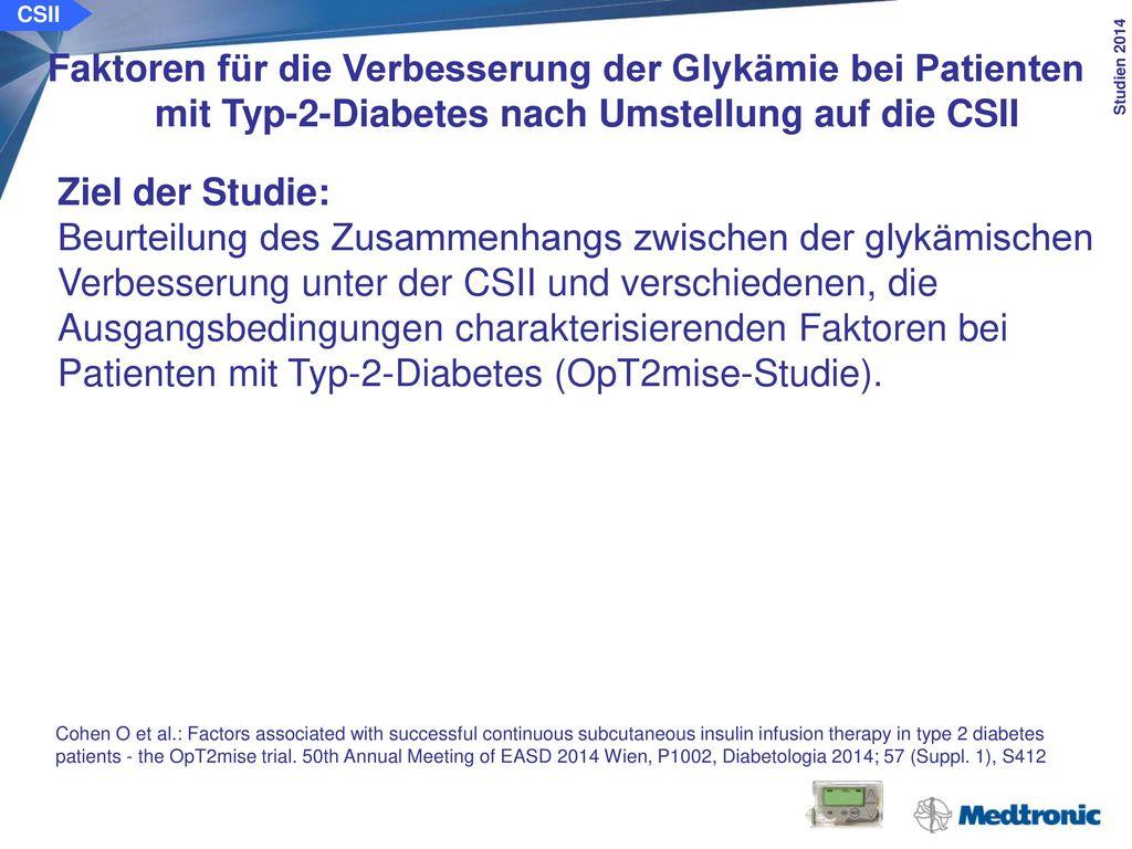 Alter, Geschlecht, Diabetesdauer Ausgangs-HbA1c, Gesamtinsulindosis