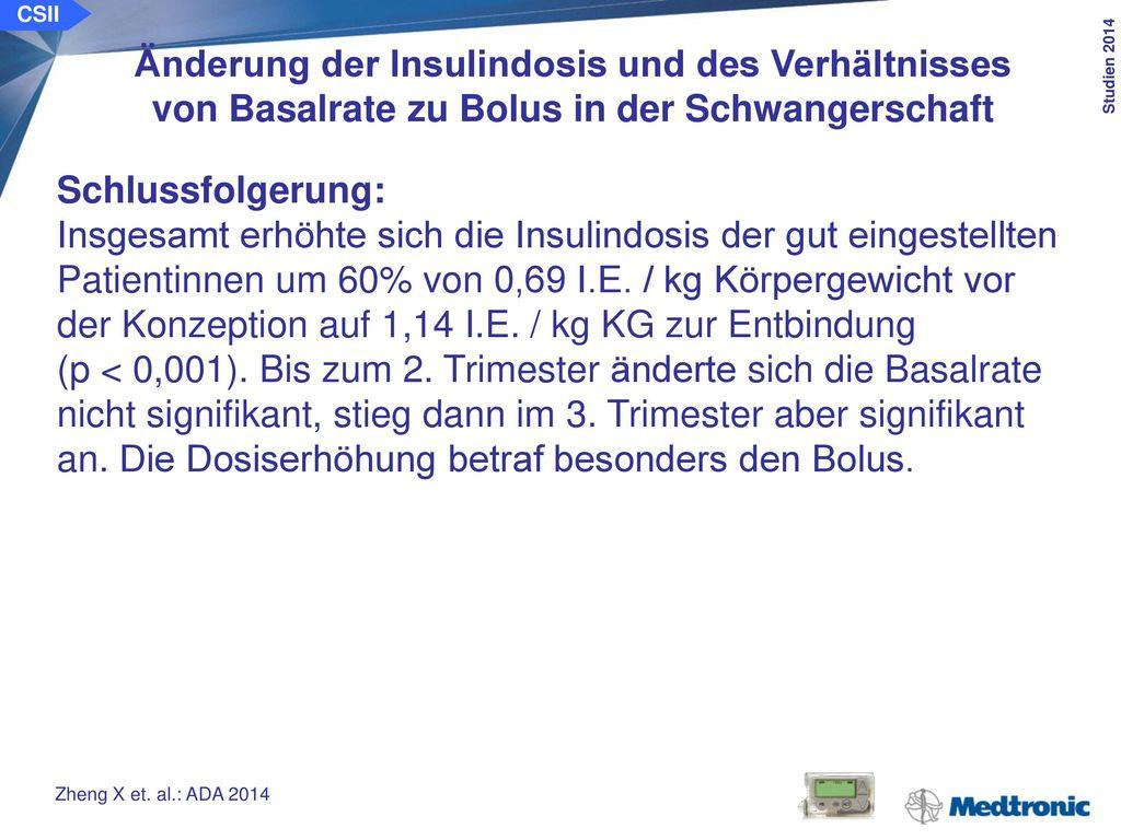 CSII Wirkt sich die Häufigkeit des Wechsels des Infusionssets auf die Glykämie aus Ziel der Studie: