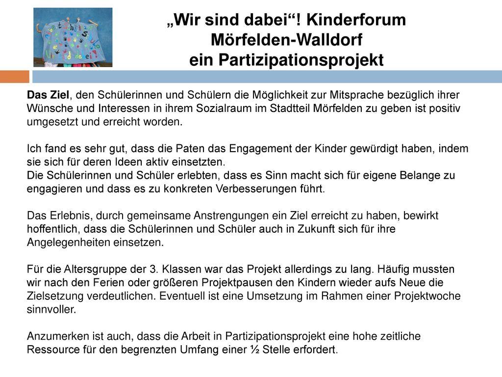 ein Partizipationsprojekt