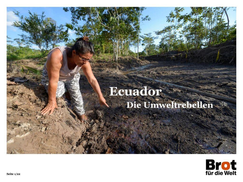 Ecuador Die Umweltrebellen 1