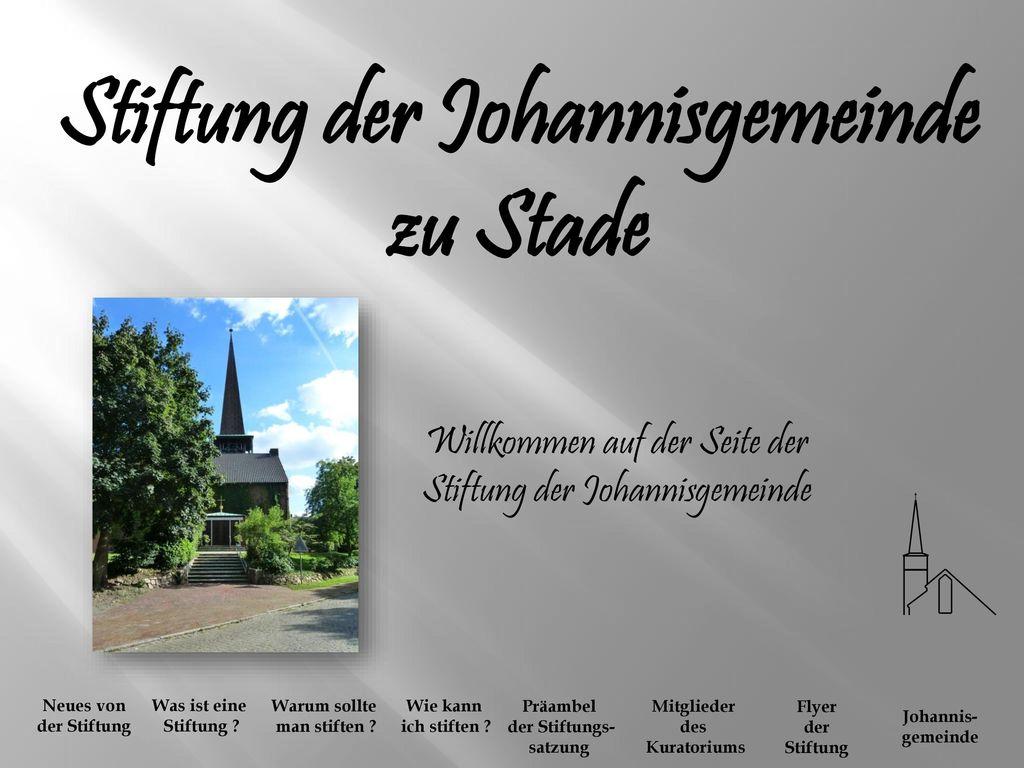 Stiftung der Johannisgemeinde zu Stade