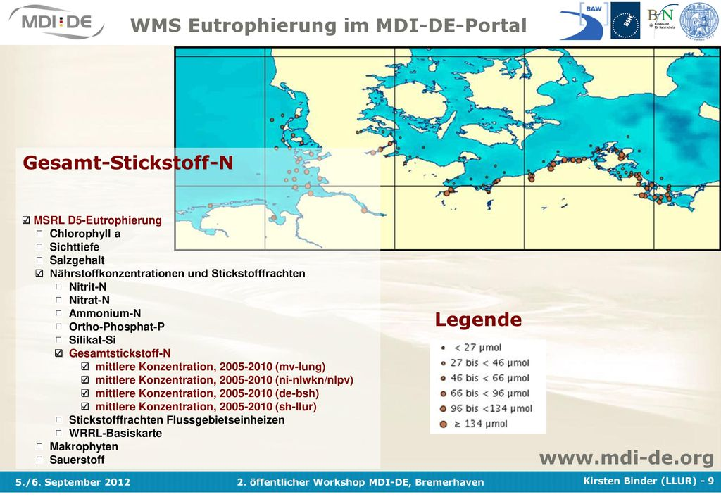 WMS Eutrophierung im MDI-DE-Portal