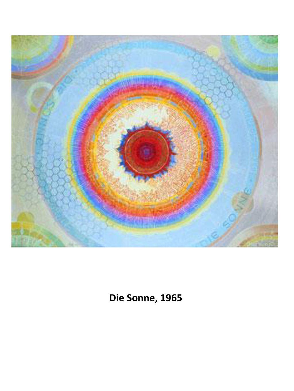 Die Sonne, 1965