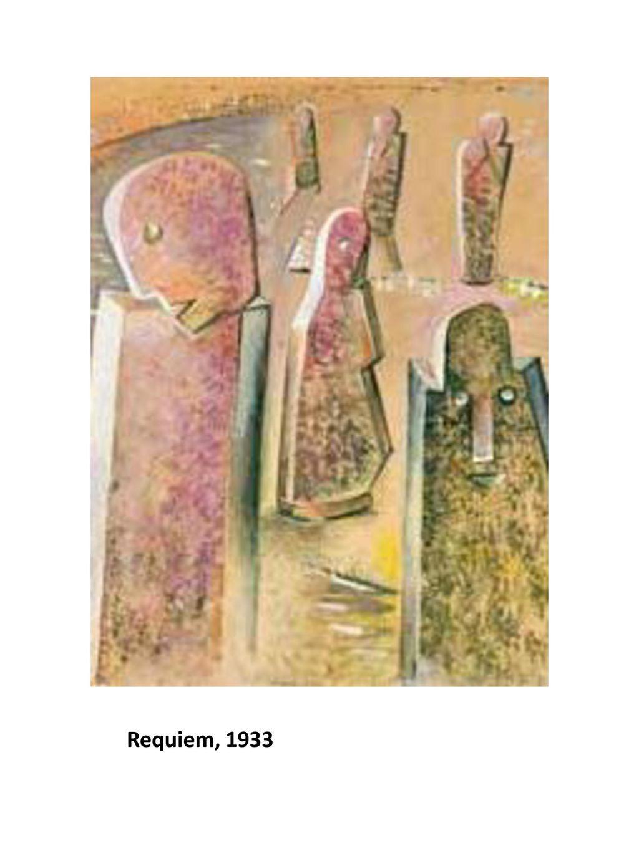 Requiem, 1933