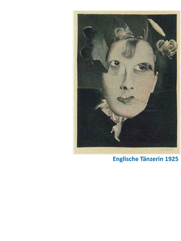 Englische Tänzerin 1925