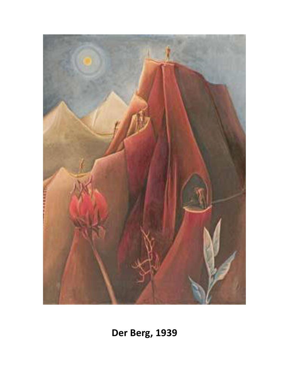 Der Berg, 1939