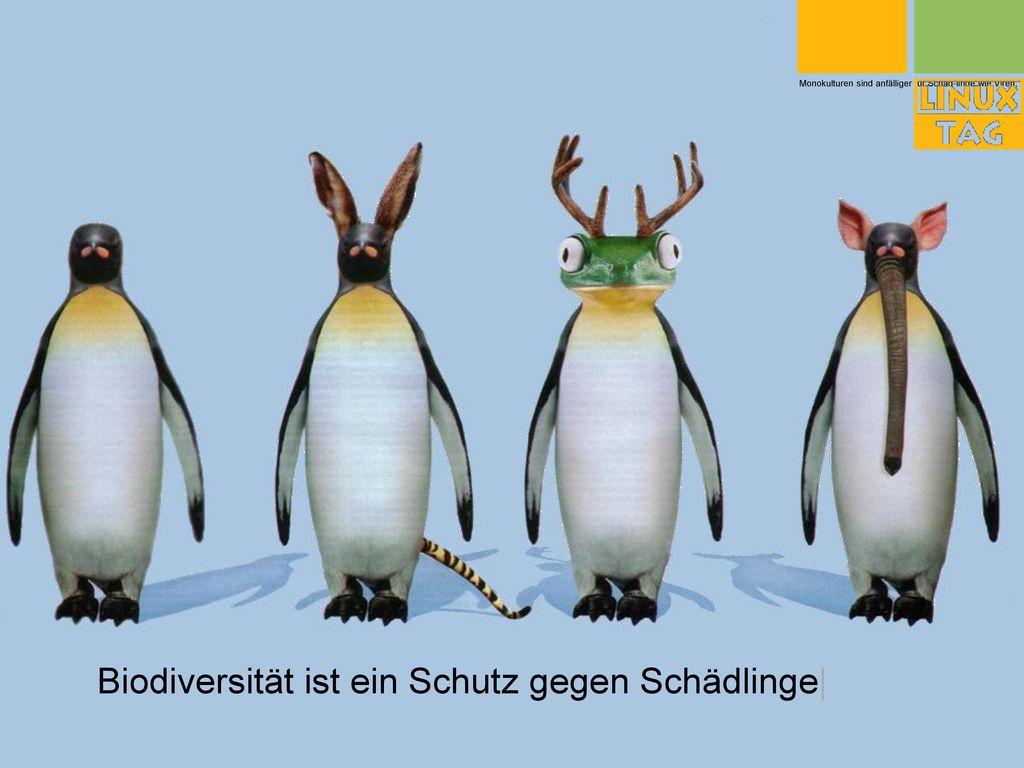 Biodiversität ist ein Schutz gegen Schädlinge|