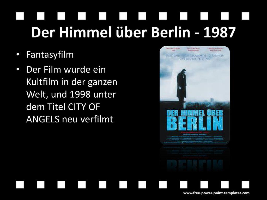 Der Himmel über Berlin - 1987