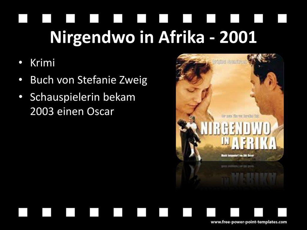 Nirgendwo in Afrika - 2001 Krimi Buch von Stefanie Zweig