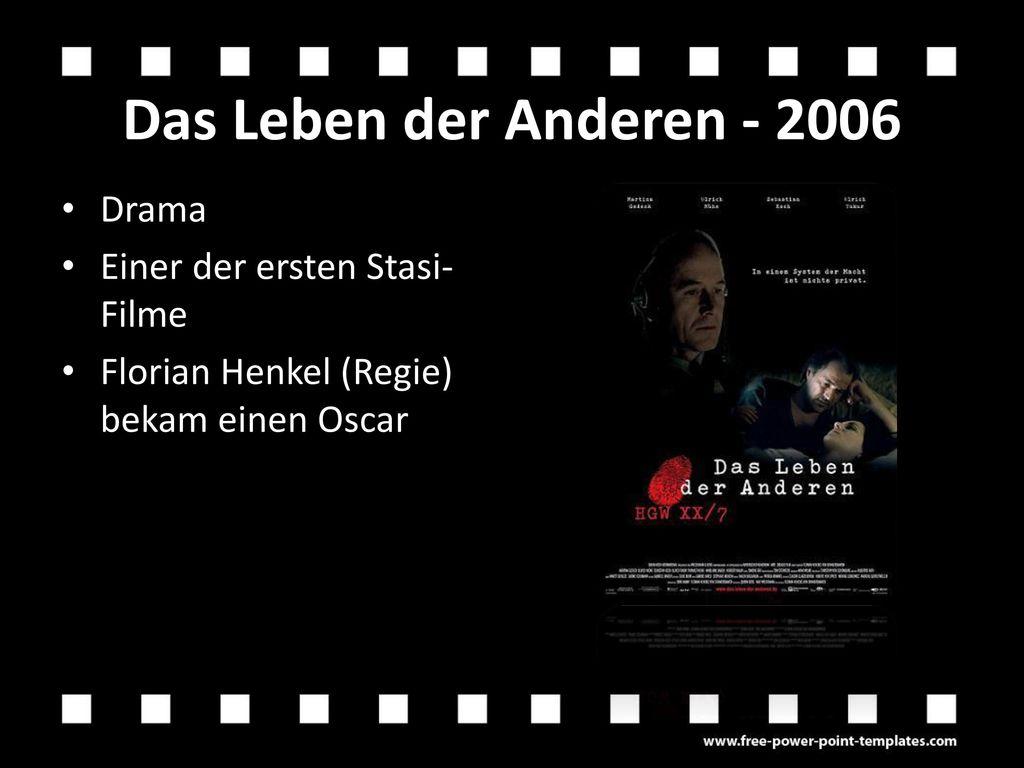 Das Leben der Anderen - 2006 Drama Einer der ersten Stasi-Filme