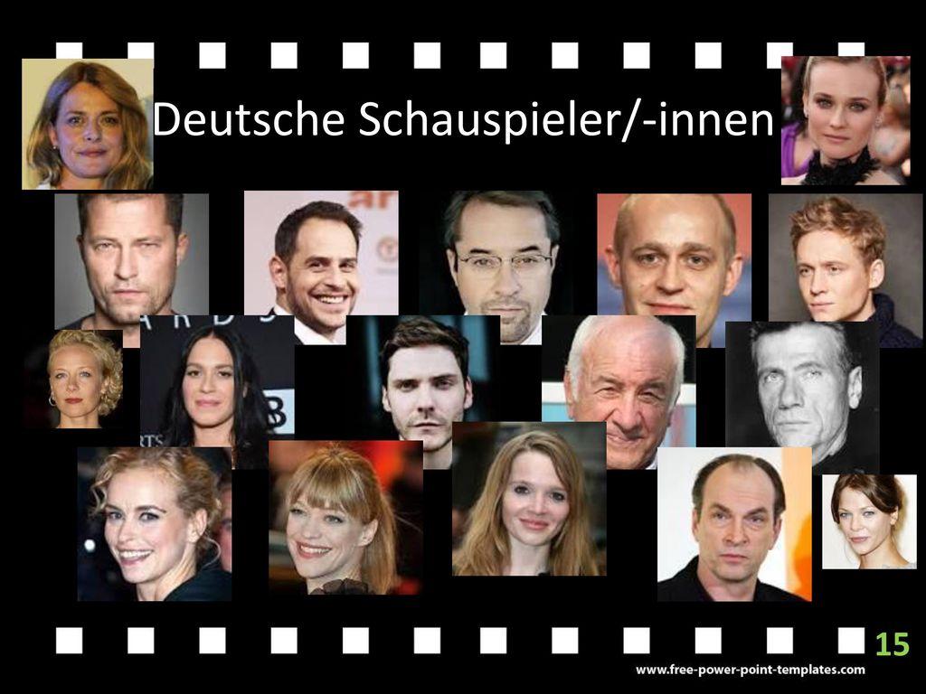 Deutsche Schauspieler/-innen