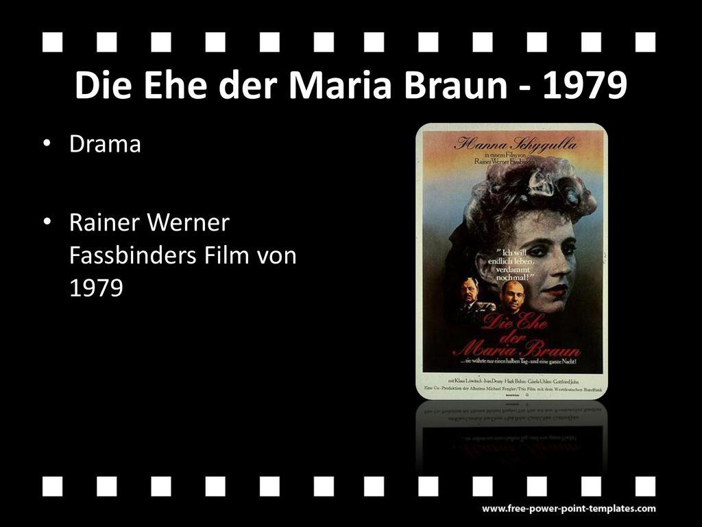 Die Ehe der Maria Braun - 1979