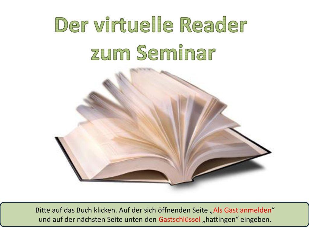 Der virtuelle Reader zum Seminar