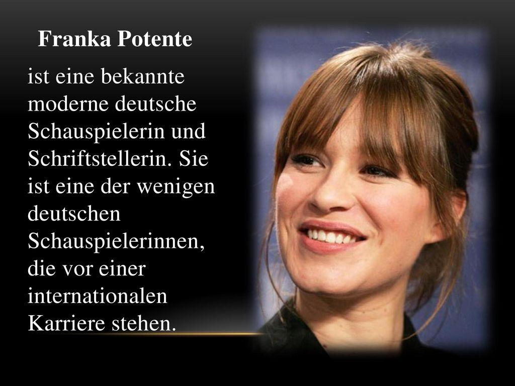 Franka Potente