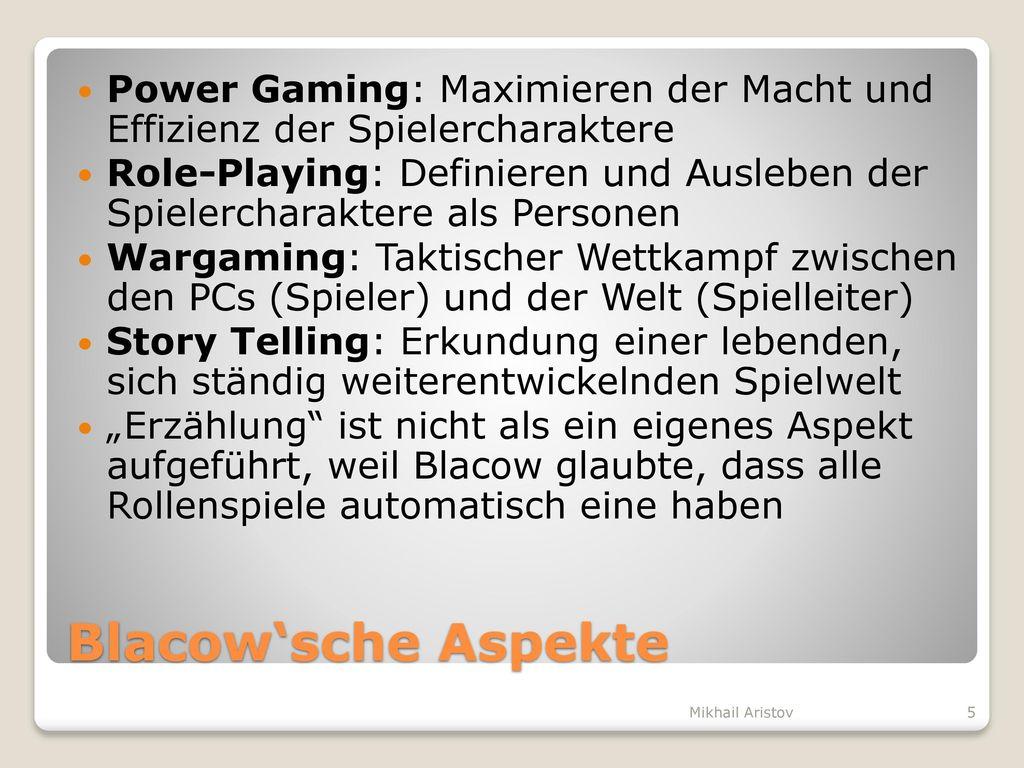 Power Gaming: Maximieren der Macht und Effizienz der Spielercharaktere