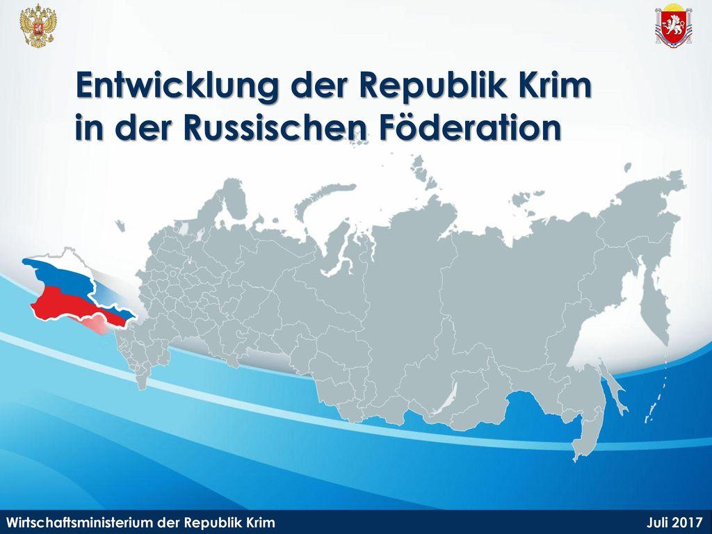 Entwicklung der Republik Krim in der Russischen Föderation