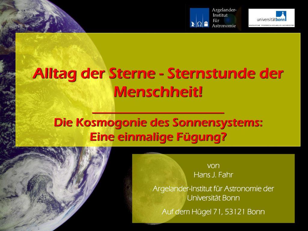 Argelander-Institut für Astronomie der Universität Bonn