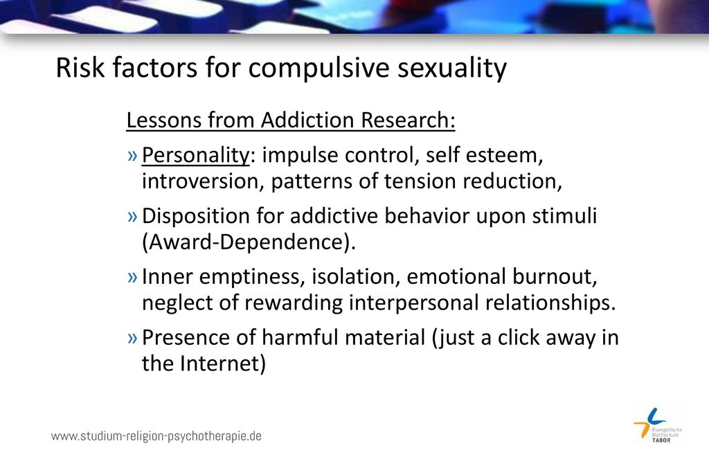 Risk factors for compulsive sexuality