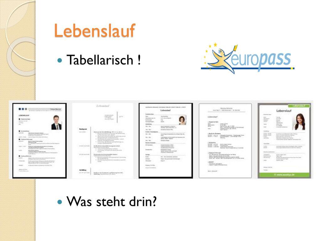 Sich für eine Stelle in Deutschland bewerben - ppt herunterladen