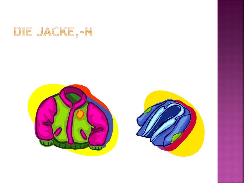 Die Jacke,-n