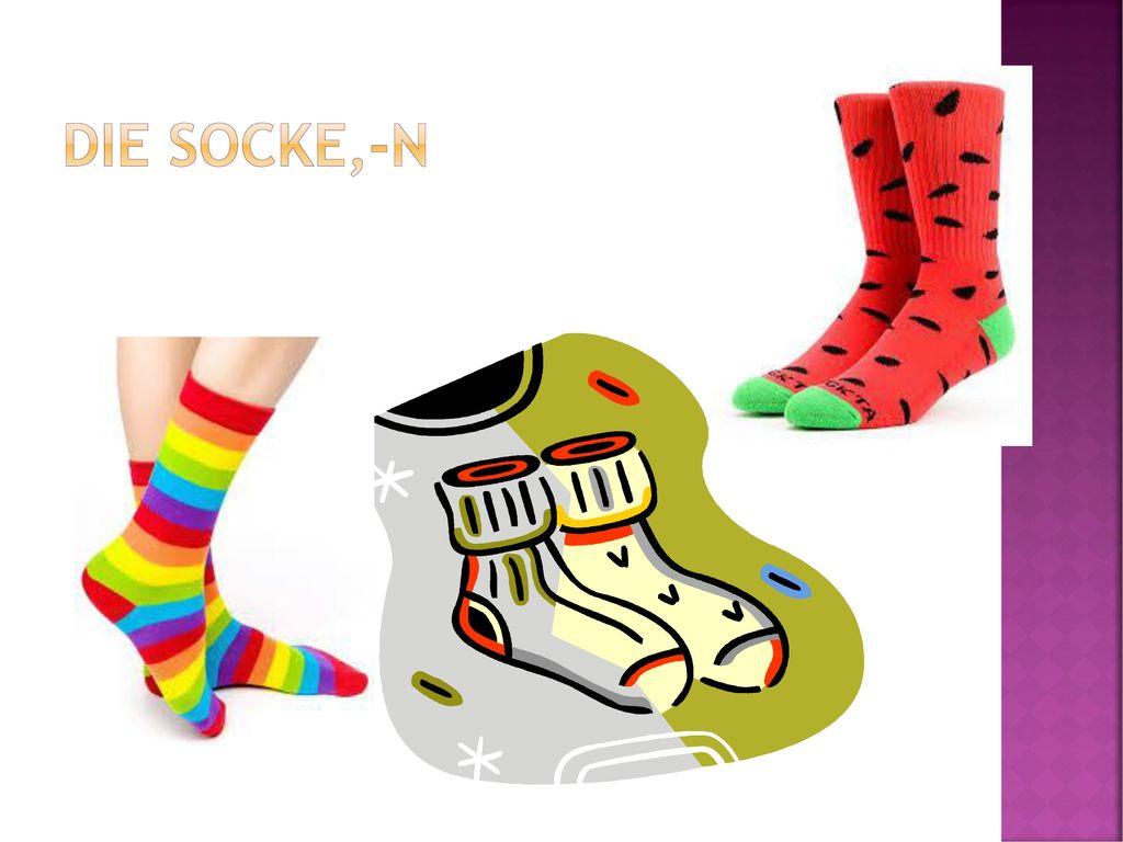 Die Socke,-n